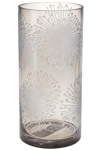 """Стеклянные вазы и кашпо Красный куб Ваза для цветов """"Одуванчики"""""""