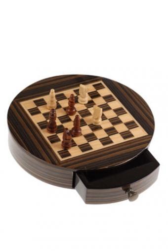 """Настольные игры для детей и взрослых Красный куб Игра настольная """"Круглые шахматы"""""""