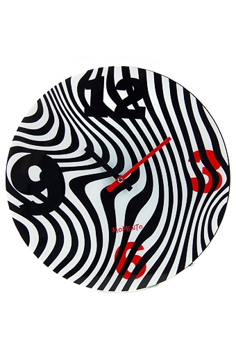 "Часы Настенные Красный куб Часы настенные ""Зебра"""