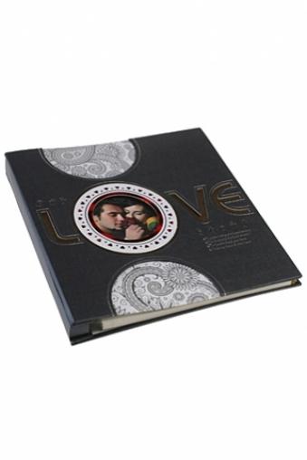 """Свадебные фотоальбомы Красный куб Фотоальбом магнитный """"Любовь"""""""