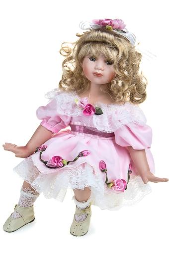 """Фарфоровые куклы Красный куб Кукла """"Прекрасная Лили"""""""