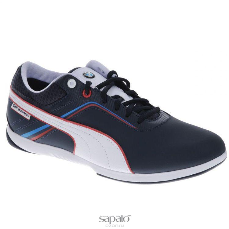Кроссовки Puma Кроссовки мужские BMW MS Ignis Leather синие