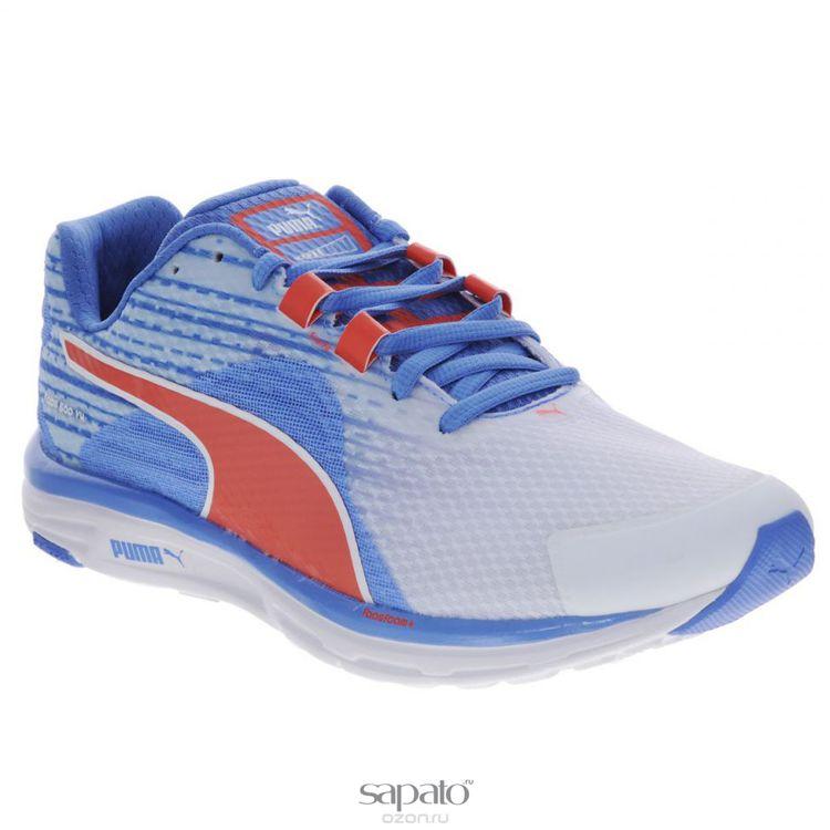 Кроссовки Puma Кроссовки женские для бега Faas 500 V4 голубые