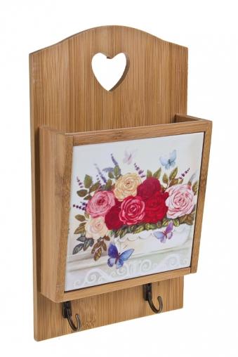 """Подставки для кухонных аксессуаров Красный куб Подставка для кух. аксессуаров """"Прованские цветы"""""""
