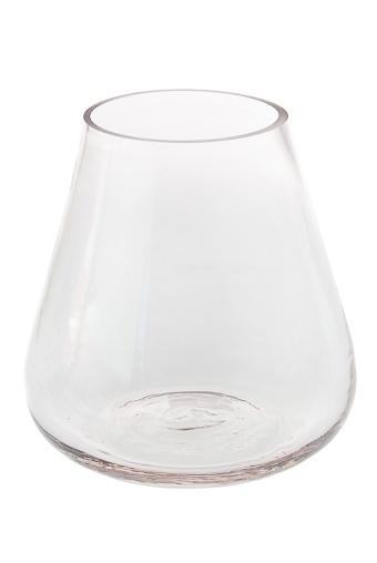 """Стеклянные вазы и кашпо Красный куб Ваза для цветов """"Колба"""""""