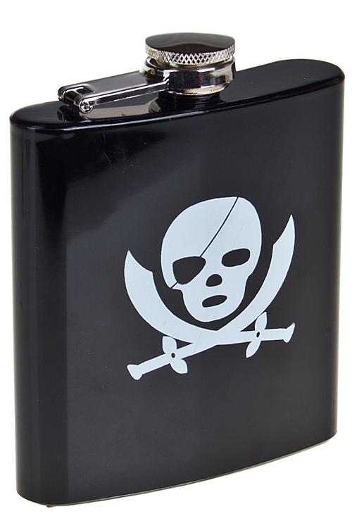"""Термокружки и стаканы для чая/кофе Красный куб Фляжка для напитков """"Настоящий пират"""""""