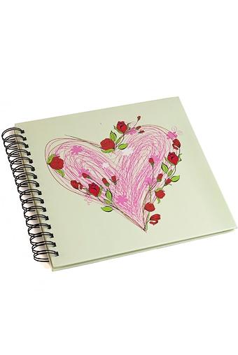 """Свадебные фотоальбомы Красный куб Фотоальбом """"Мотивы любви"""""""
