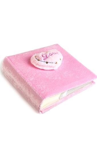 """Свадебные фотоальбомы Красный куб Фотоальбом """"Розовое сердце"""""""