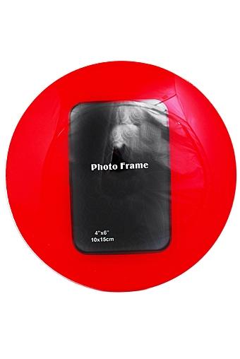 """Стеклянные фоторамки Красный куб Рамка для фото """"Яркость"""""""