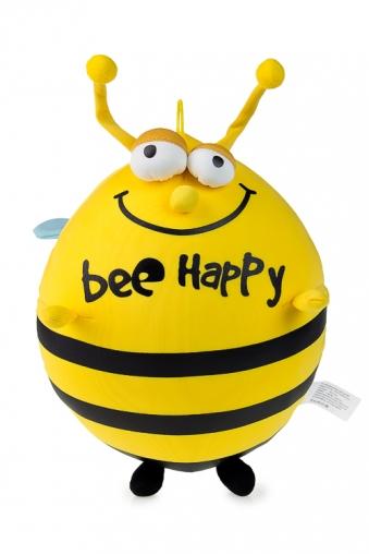 """Релаксанты Красный куб Игрушка мягкая """"Счастливая пчела"""""""