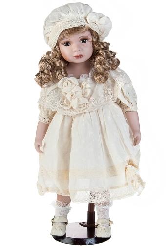 """Фарфоровые куклы Красный куб Кукла """"Маленькая очаровашка в берете"""""""
