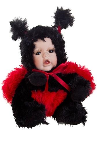 """Игрушки-куклы Красный куб Кукла мягконабивная """"Маленькая божья коровка"""""""