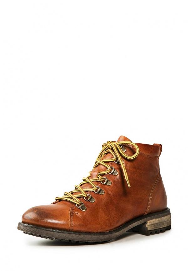 Ботинки Mango Man 34045558 коричневые