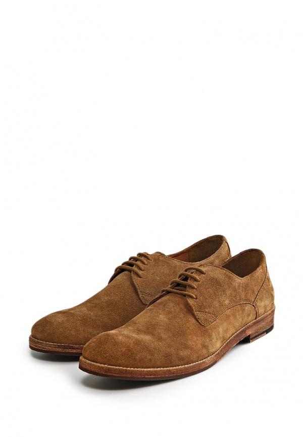 Туфли Mango Man 34070347 коричневые