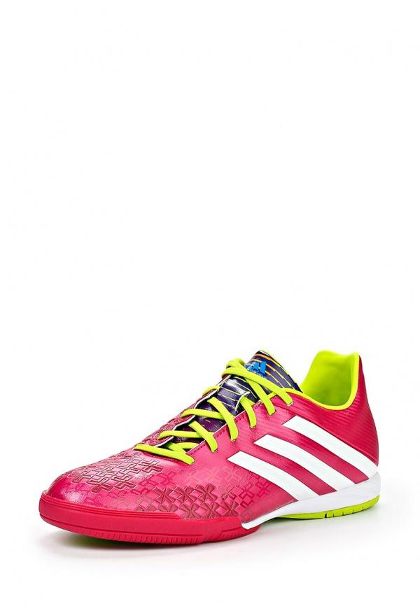 Бутсы зальные adidas Performance F32591 розовые