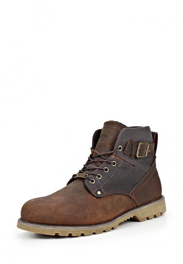 Ботинки Patrol 456-9592M-15w-1/8-2 коричневые, серые