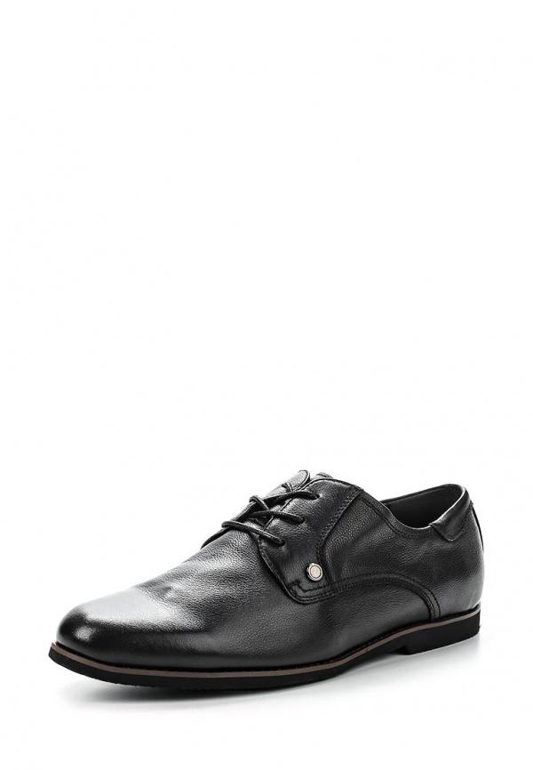 Туфли Zenden 134-27MK-008KK чёрные