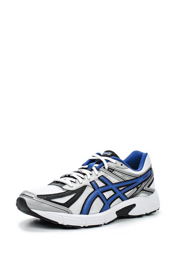 Кроссовки Asics T4D1N белые, синие
