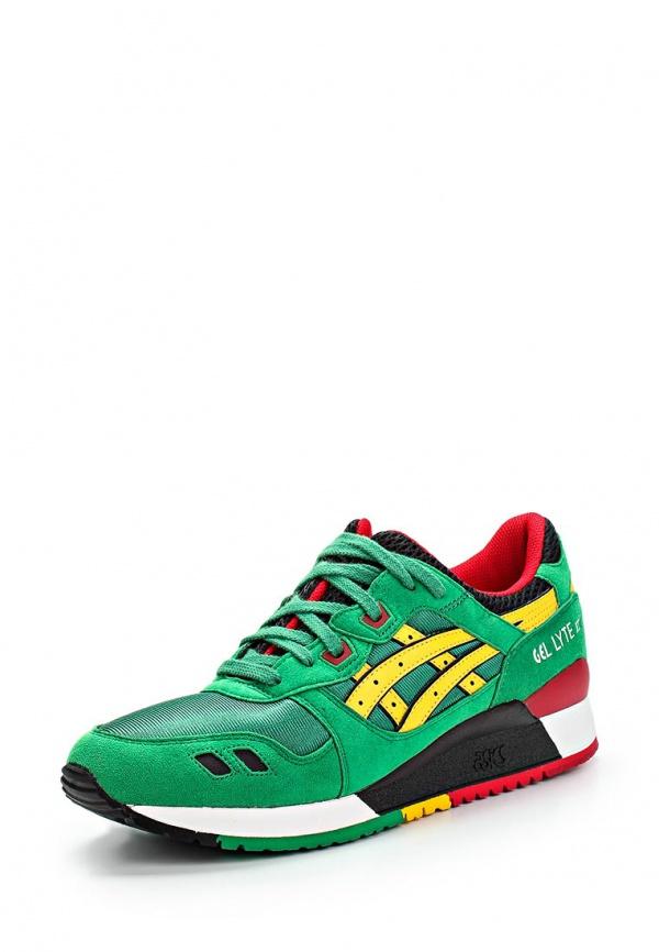 Кроссовки Asics H514N зеленые