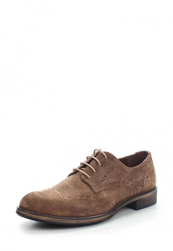 Туфли Buffalo 2396 коричневые