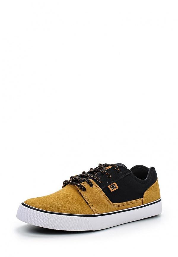 Кеды DC Shoes 302905 горчичный, чёрные