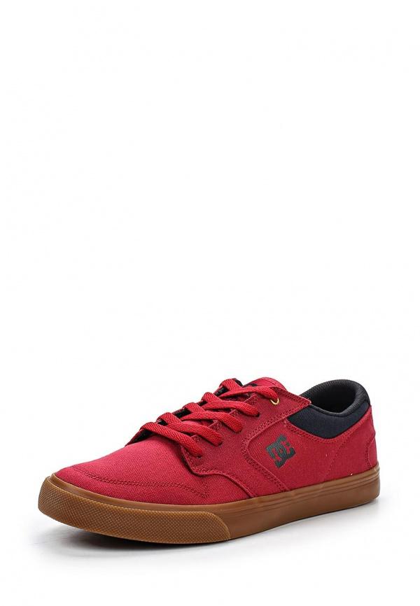 Кеды DC Shoes ADYS300094 красные, чёрные