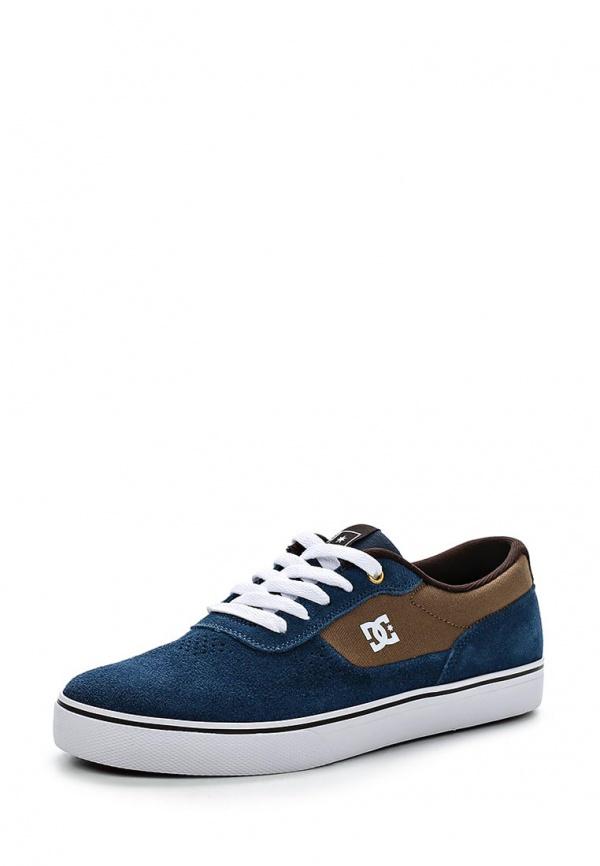 Кеды DC Shoes ADYS300104 коричневые, синие