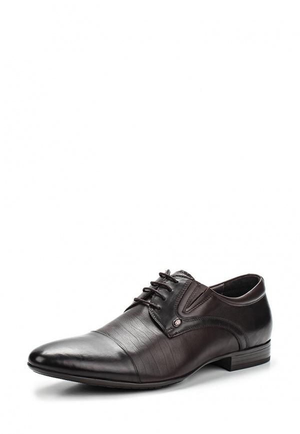 Туфли Hortos 657214/06-02 коричневые, чёрные