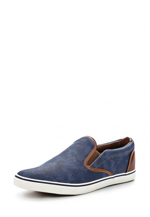 Слипоны Ideal C9383 коричневые, синие