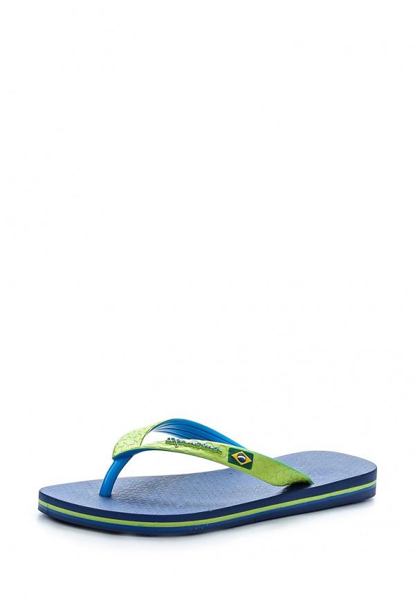 Сланцы Ipanema 81046-23175 зеленые, синие