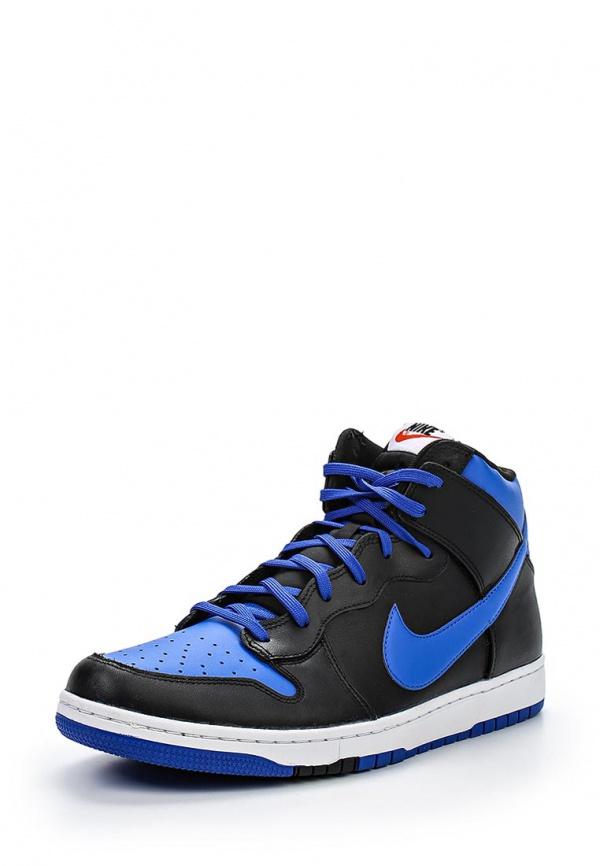 Кроссовки Nike 705434-400 синие, чёрные