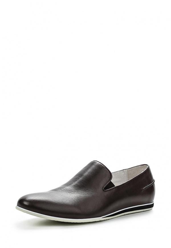 Лоферы Paolo Conte 61-215-16-2 коричневые
