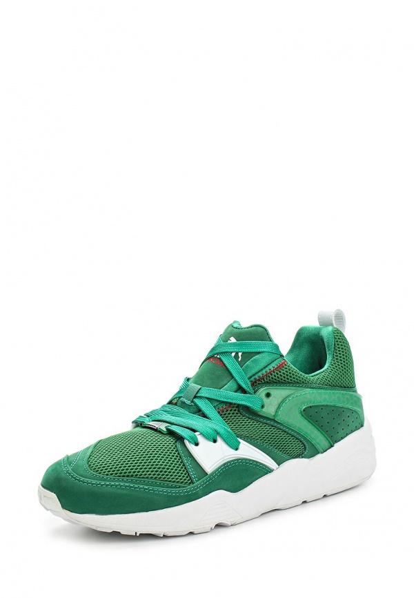 Кроссовки Puma 35849001 зеленые