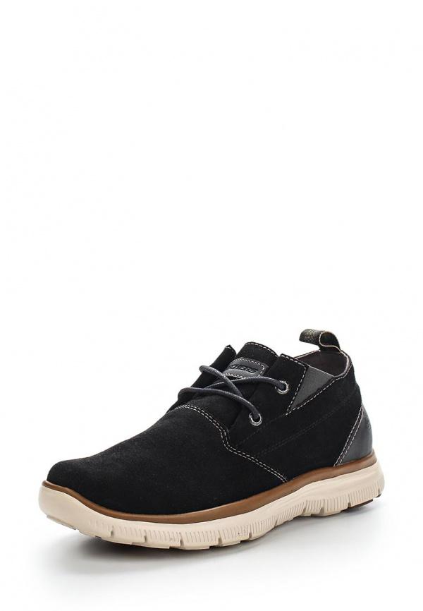 Ботинки Skechers 64370 чёрные