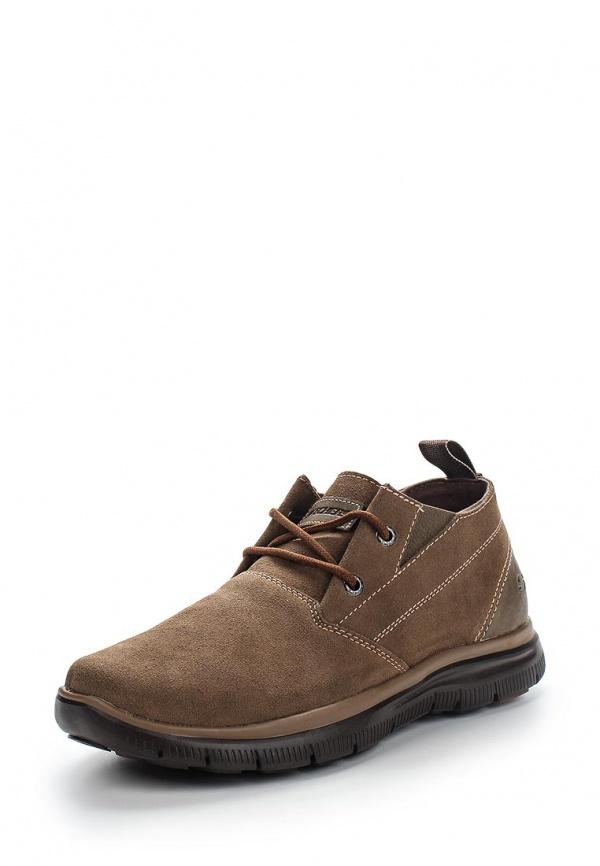 Туфли Skechers 64370 коричневые