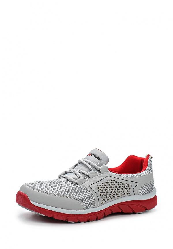 Кроссовки Strobbs C2168-4 красные, серые