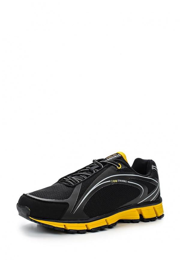 Кроссовки Strobbs C2148-3 чёрные