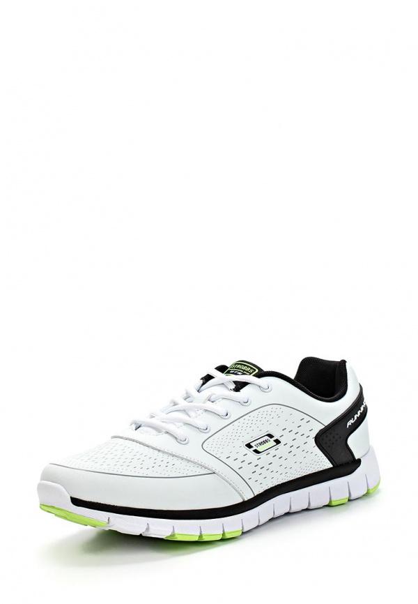 Кроссовки Strobbs C2172-6 белые, чёрные