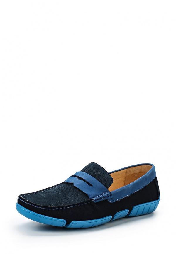 Мокасины Vitacci M13716 голубые, синие