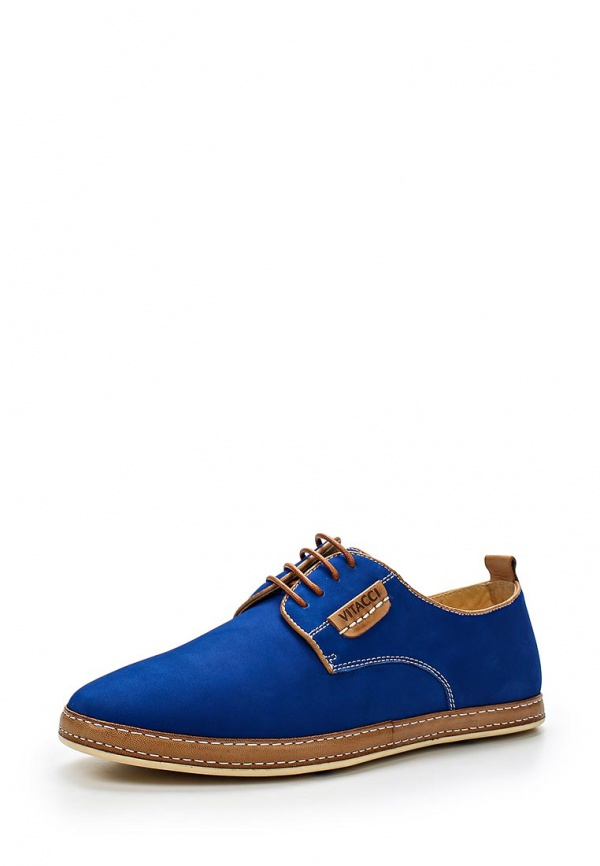 Туфли Vitacci M17954 коричневые, синие