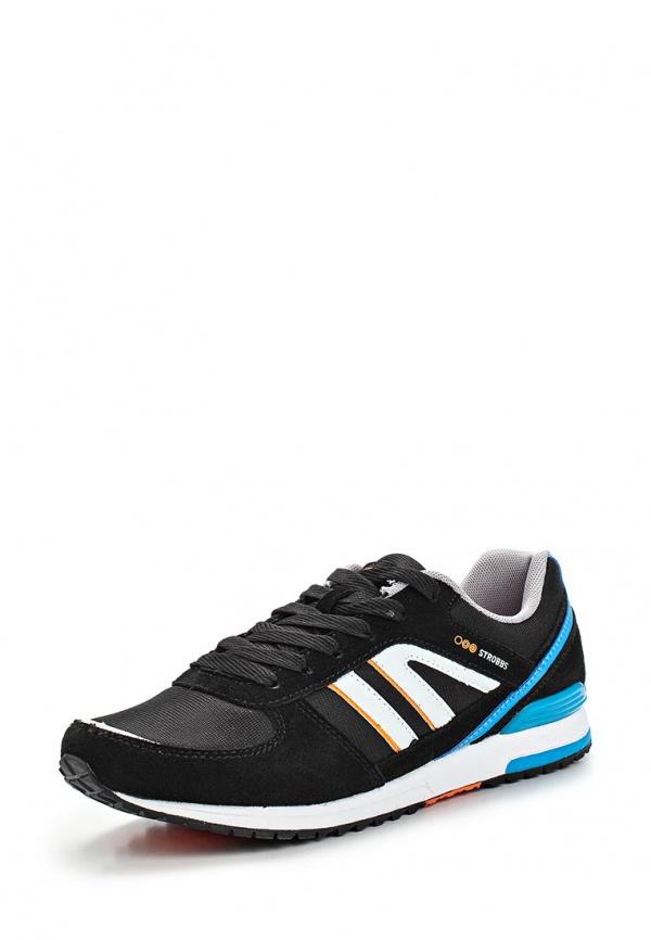 Кроссовки Strobbs C2156-3 чёрные