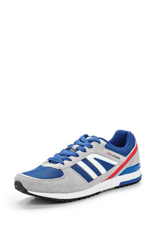 Кроссовки Strobbs C2156-4 серые, синие