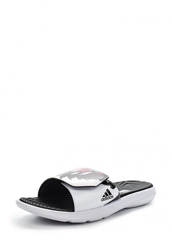 Сланцы adidas Performance B44322 белые
