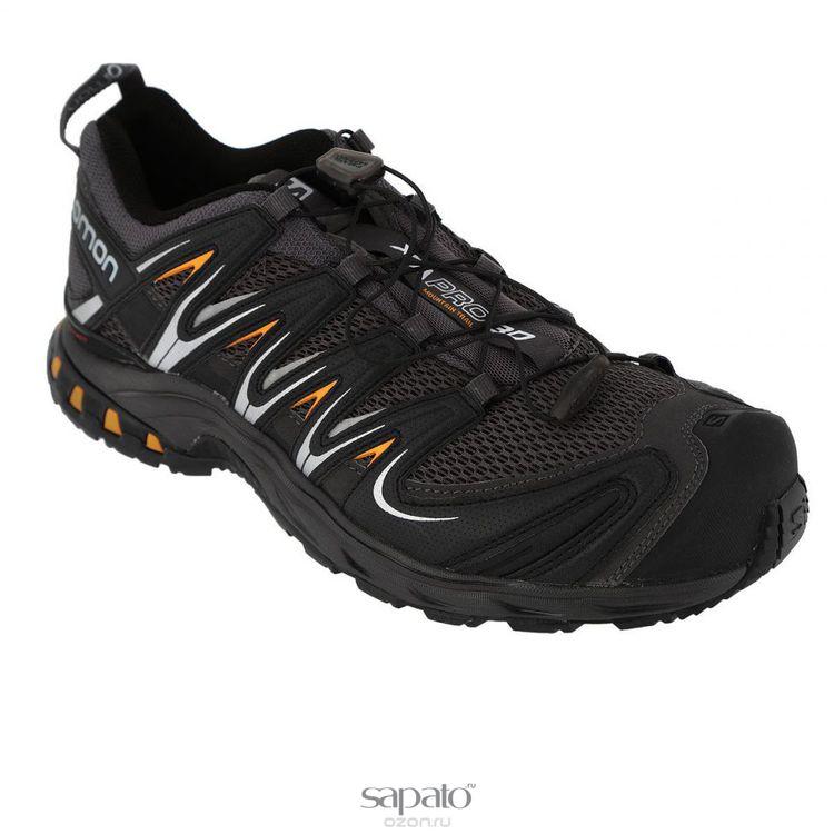 Кроссовки Salomon Кроссовки XA PRO 3D AUTOBAHN/BLACK/YEGO чёрные