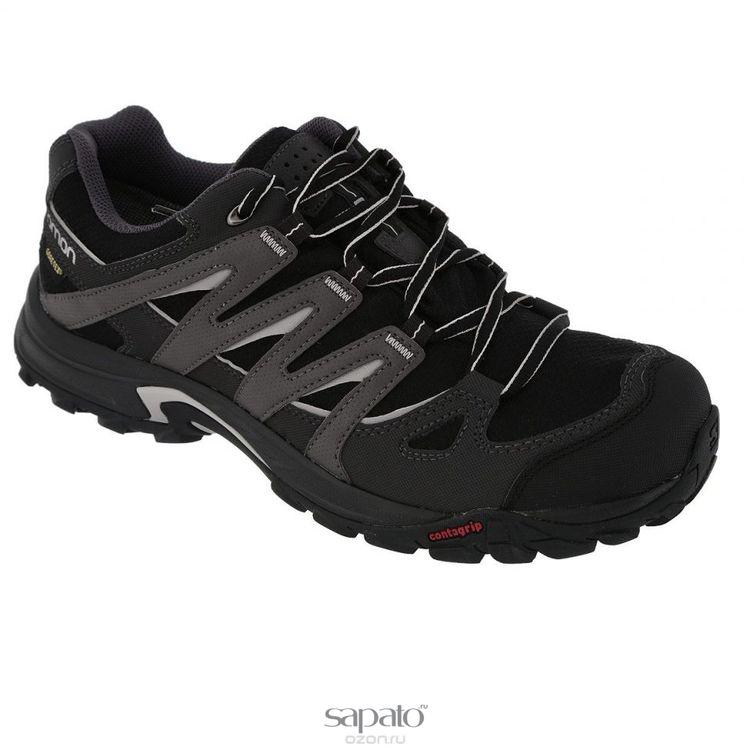 Кроссовки Salomon Полуботинки ESKAPE GTX® M BLACK/ASPHALT/ чёрные