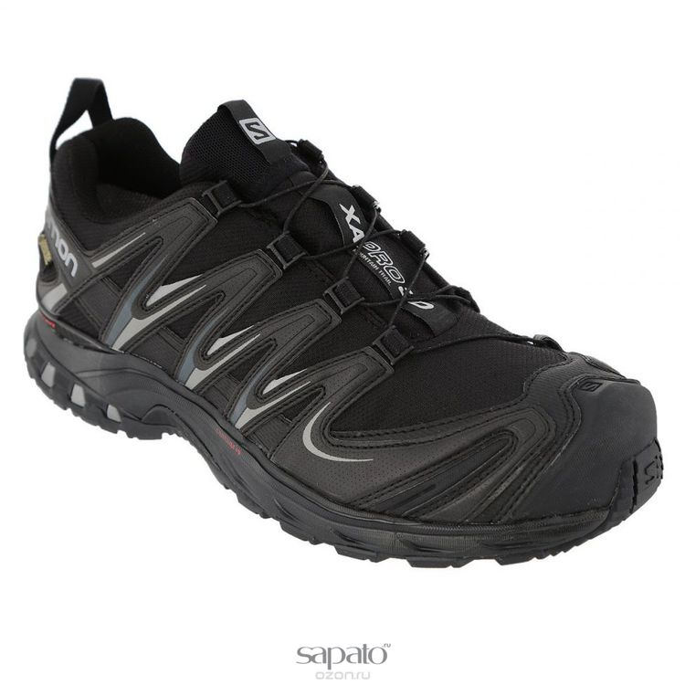 Кроссовки Salomon Кроссовки XA PRO 3D GTX® BLACK/BLACK/PTR чёрные
