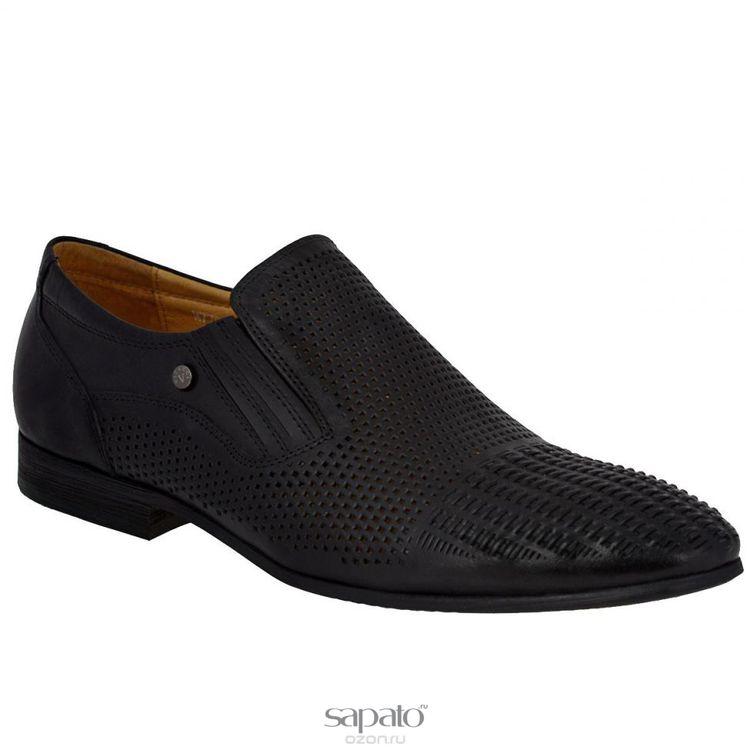 Туфли Vitacci Туфли мужские. M77034 чёрные