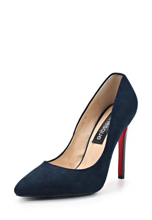 Туфли Burlesque BC-H1 синие