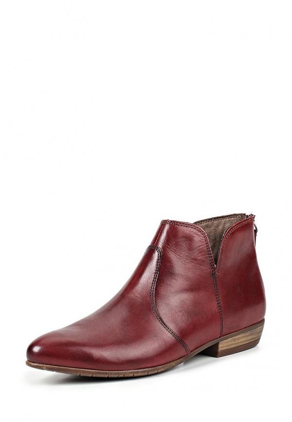 Ботинки Tamaris 1-1-25308-34-501 бордовые