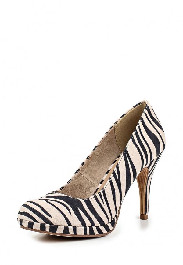 Туфли Tamaris 1-1-22407-24-046 белые, чёрные